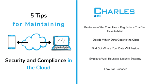 5-Tips-for-Maintaining-Security-and-Compliance-in-the-Cloud-Infographic