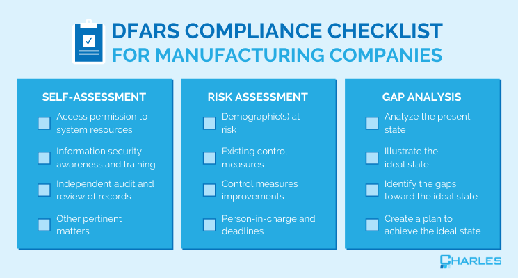 DFARS Compliance: A Checklist for Manufacturing Companies